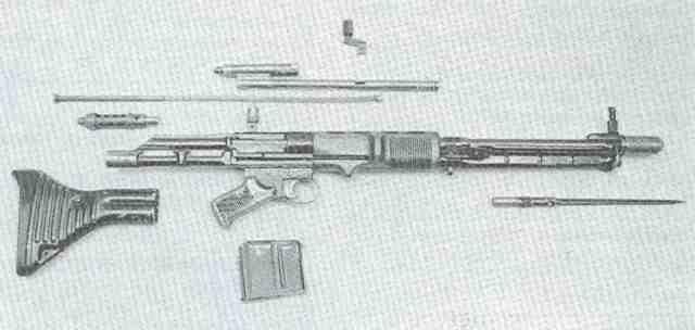 FG 42 4 zerlegt
