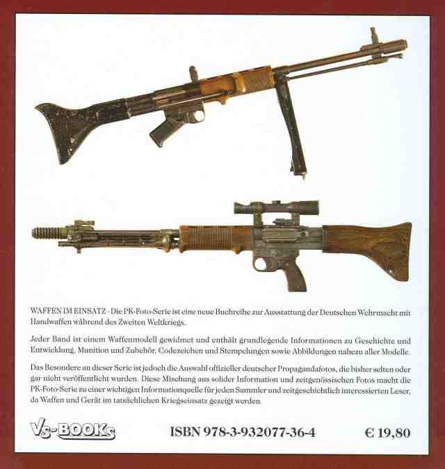 FG 42 6 Waffen im Einsatz 8 Rückseite