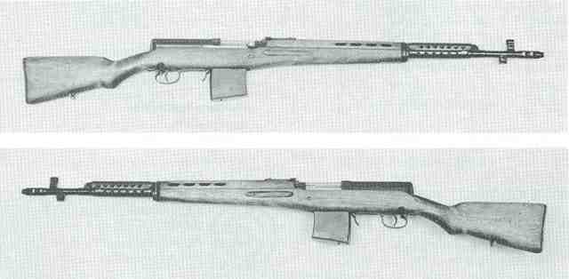 Tokarev AVT 40 2 links + rechts