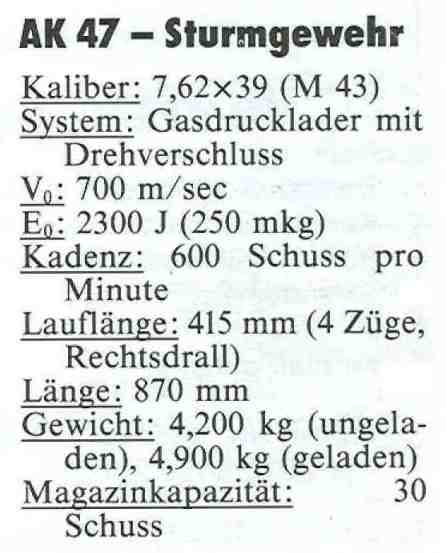 AK 47 5 Daten