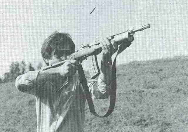 Ruger AC 556 F 1 Spinnler schießt Ruger