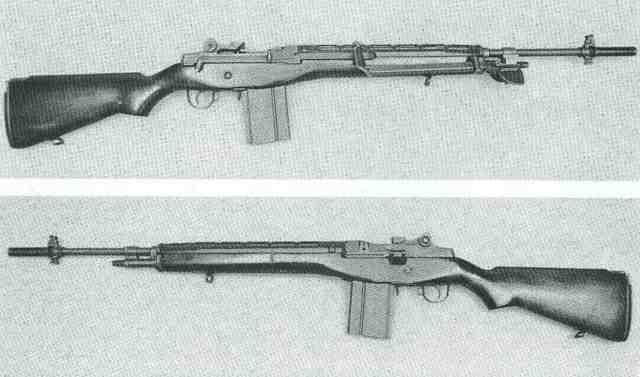 US M14 links + rechts