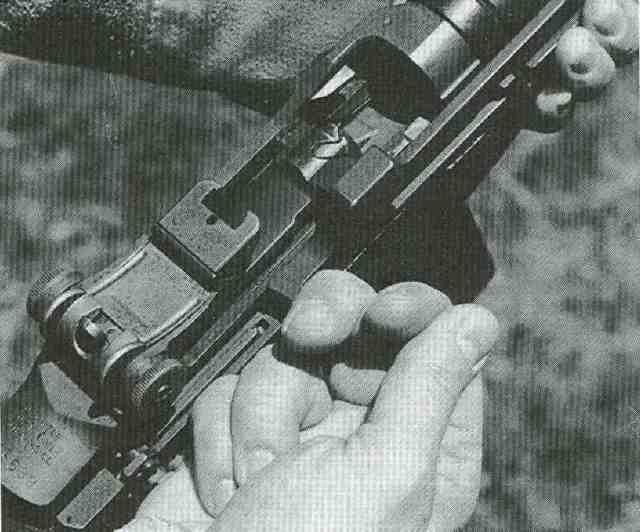 US M14 Verschlusspartie