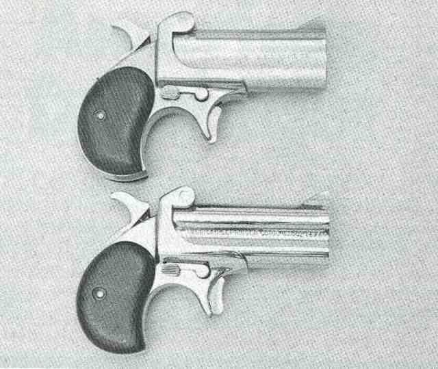 American Derringer 06 44 Mag + 9 Para von rechts