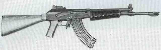 Galil 2 - Valmet M 62