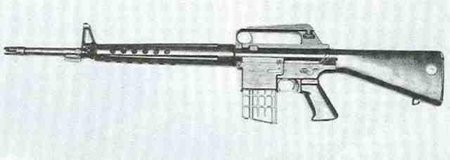 M 16 2 Armalite AR 10