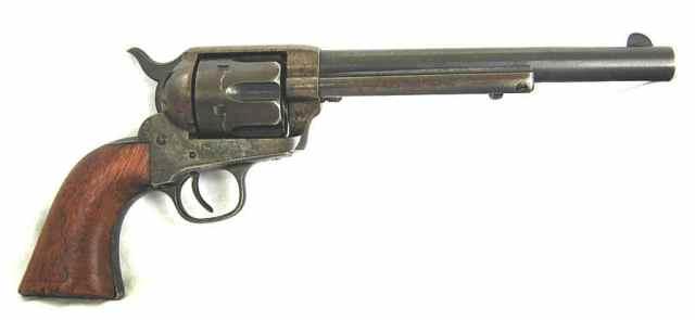 colt model 1873 single action army cavalry revolver 44