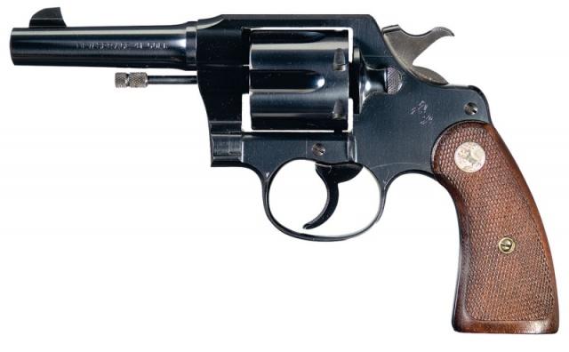 Colt New Service Double Action, hier im Kaliber .41 Colt.