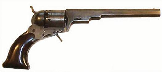 Colt Paterson 1836, 5. Modell, im Kaliber .36.
