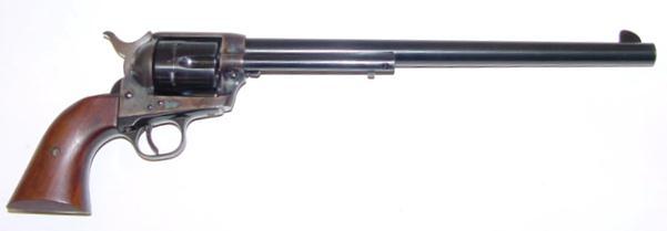 """Colt SAA """"Buntline Special"""" in .45 Long Colt mit 12"""" langem Lauf."""
