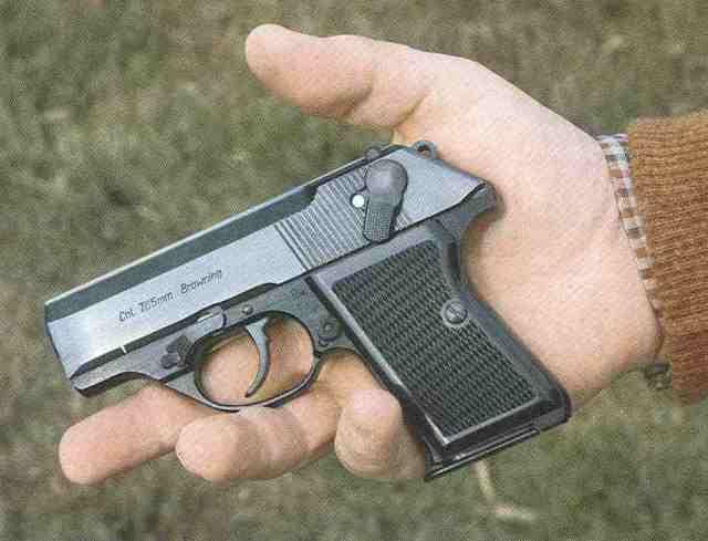 """Ungarische FÉG-Spannabzug-Pistole Modell """"R"""" im Kaliber 7,65 mm Browning."""