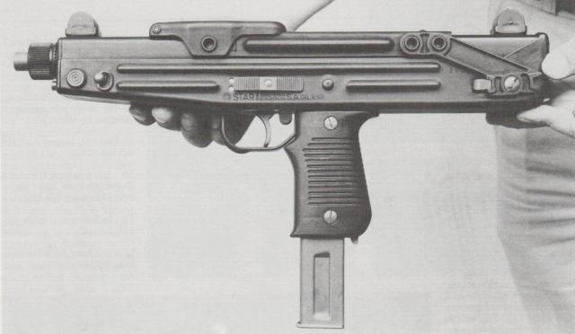 Spanische Star-Maschinenpistole Z-84.