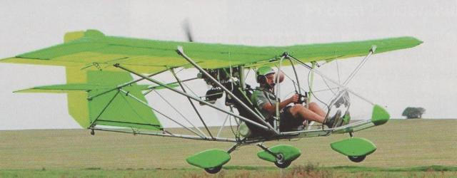 Großer Spaß mit der Nase im Wind: Die Aerolite 120 gehört zu den Leichten Luftsportgeräten.