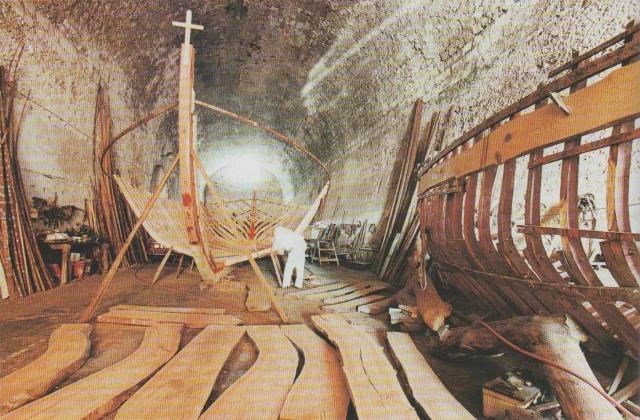 Kaiki-Werft in Chanía