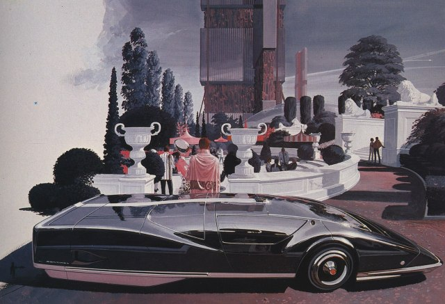 Syd Mead 06 Lemans Coupe
