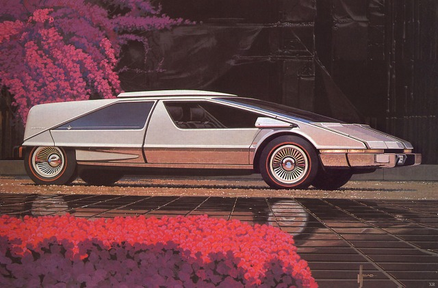 Japanese Car Concept, 1975