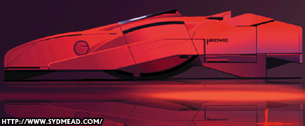 syd mead mech-planet