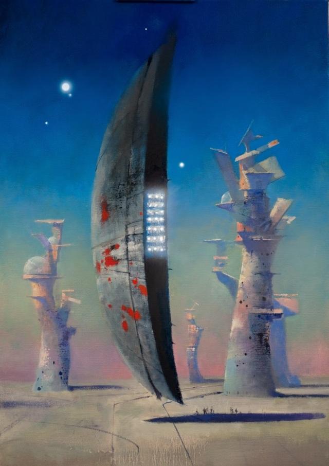 """""""Eden's Endgame: Scintillarian Ship"""""""