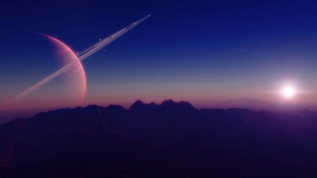 09d Exomond Sonnenaufgang