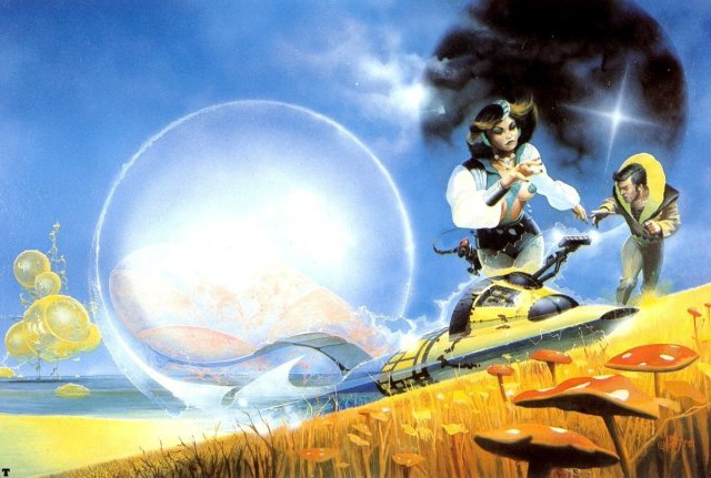 10g Peter Jones Beyond the Barrier by Damon Knight 1978